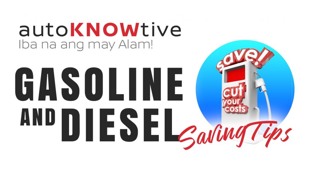 autoknowtive gasoline and diesel saving tips