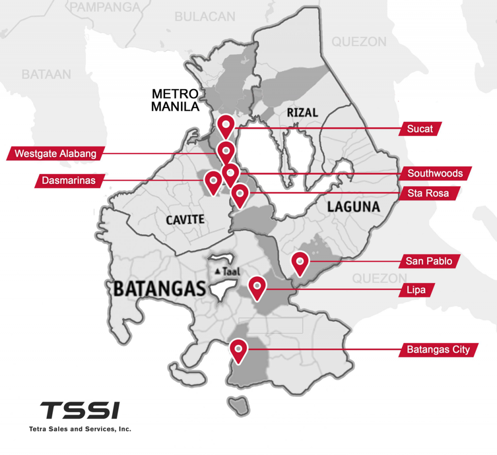 Tetra Sales and Services Dealership Location